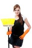 miotły housemaid Obrazy Stock