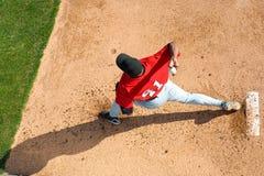 miotacz baseballu Zdjęcie Royalty Free