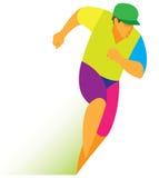 Miotacza biegacz Zdjęcia Stock