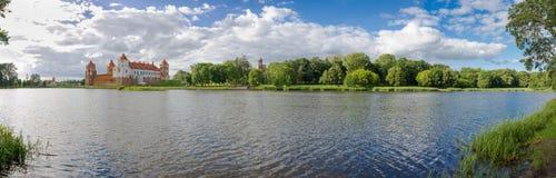 Mir城堡,白俄罗斯 库存图片