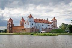 Mir城堡,白俄罗斯 免版税图库摄影