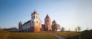 Mir城堡 迟来的 库存图片