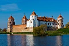 Mir城堡 免版税库存图片