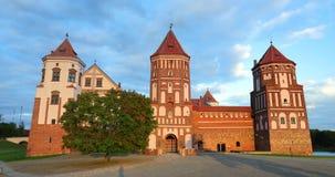 Mir, Λευκορωσία λευκορωσικό κάστρο σύνθετη Ευρώπη mir Αρχιτεκτονικό σύνολο φεουδαρχίας, αρχαίο πολιτιστικό μνημείο, παγκόσμια κλη φιλμ μικρού μήκους