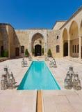 Mir Amin Palace Hotel Beit ed-Dine Lebanon Royalty Free Stock Photo