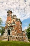 Mir BIAŁORUŚ, Maj, - 20, 2017: Mir kasztel w Minsk regionie Pogrzeb krypta Svyatopolk-Mirsky Data budowa: 1904 Obrazy Royalty Free