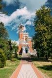 MIR, Bielorrusia Capilla-entierro-cámara acorazada de la familia de Svyatopolk-mirsky asoleado Imagenes de archivo