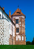 Mir Castle, Λευκορωσία Στοκ εικόνα με δικαίωμα ελεύθερης χρήσης