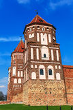 Mir Castle σύνθετο Στοκ Φωτογραφίες