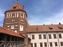 Mir Castle Fotografia Stock Libera da Diritti