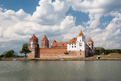 Mir Castle Royalty Free Stock Photo