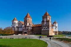 Mir Castle Royaltyfri Bild