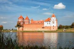 Mir Castle antico Fotografia Stock Libera da Diritti