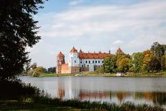 Mir Castle antico Immagine Stock Libera da Diritti