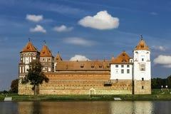 Mir Castle antique Image libre de droits
