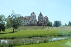 Mir Castle Belarus lizenzfreie stockfotografie