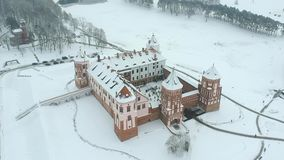 MIr Castle, Belarus stock video footage