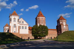 Mir castle in Belarus. Stock Images