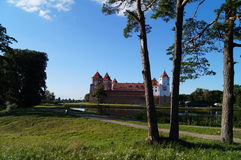 Mir castle in Belarus. Royalty Free Stock Photo
