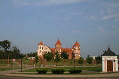 The Mir Castle. Belarus Stock Images