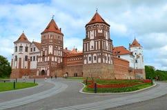 Mir Castle in Belarus Stock Image