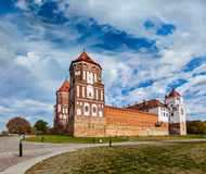 Mir castle in Belarus Stock Photography