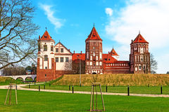 Mir Castle Complex. Belarus.Europe Stock Image