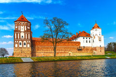 Mir Castle Complex. Belarus.Europe Royalty Free Stock Image