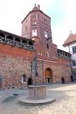 Mir Castle Complex antigo em Bielorrússia Imagem de Stock Royalty Free