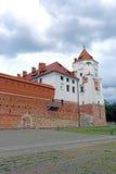 Mir Castle Complex antigo em Bielorrússia Imagem de Stock