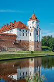 Mir Castle Complex.  Belarus. Stock Photo