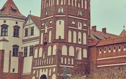 Mir Castle Complex.  Belarus. Royalty Free Stock Image