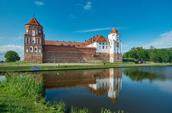 Mir Castle Complex.  Belarus. Royalty Free Stock Images