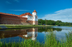 Mir Castle Complex.  Belarus. Royalty Free Stock Photos