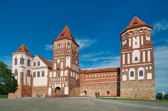 Mir Castle Complex.  Belarus. Stock Photos