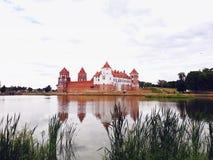 Mir Castle Complex in Belarus stock image