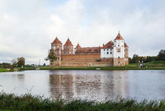 Mir Castle Complex, Belarus Royalty Free Stock Images