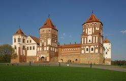 Mir Castle Complex. Belarus Stock Images