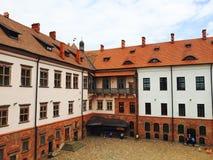 Mir Castle Complex in Bielorussia Fotografia Stock