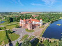 Mir Castle Complex Royalty Free Stock Photography