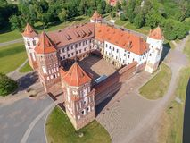 Mir Castle Complex Royalty Free Stock Images
