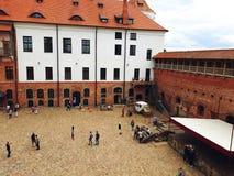 Mir Castle Complex in Weißrussland Stockfotografie
