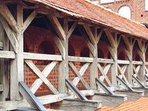 Mir Castle Complex in Weißrussland Stockbilder