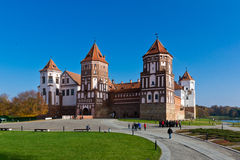 The Mir Castle. Is a famous castle in Belarus Royalty Free Stock Image