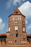 Mir castle tower Royalty Free Stock Photography