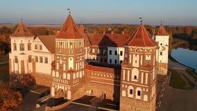 Mir Castle-video stock videobeelden