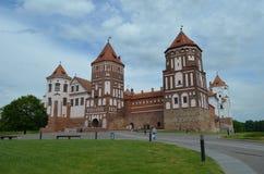 Mir Castle Stock Photos