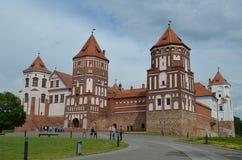 Mir Castle Stock Photo