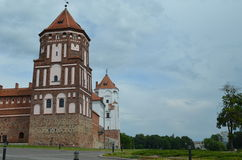 Mir Castle Royalty Free Stock Photography