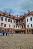 Mir Castle. View of Mir Castlel, Belarus Royalty Free Stock Image